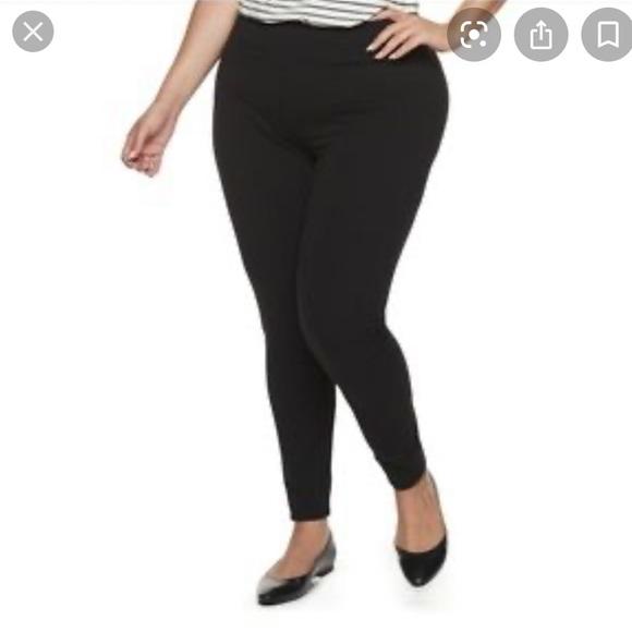 Women's Plus Size 4X Navy Leggings Price Firm